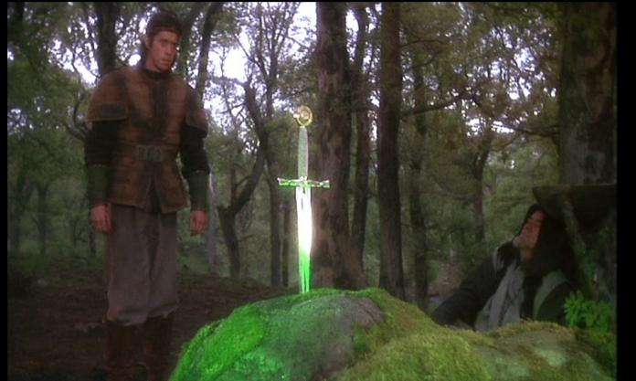 Excalibur in the stone